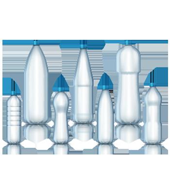 Pet-Flaschen-neu