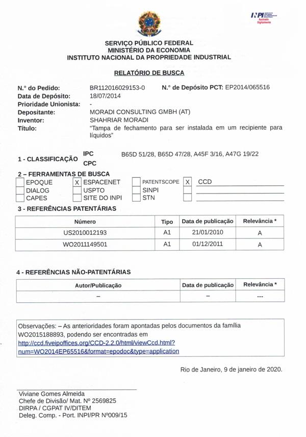 Patent-Brasilien